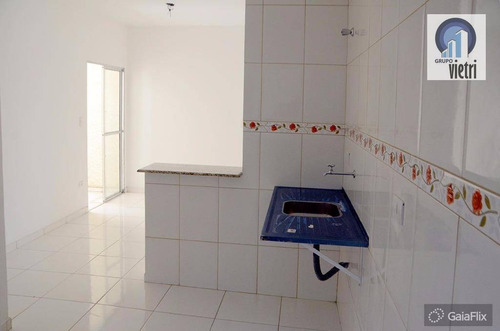 apartamento novo em ferraz de vasconcelos vila cristina com 2 dormitórios, sala, cozinha, 1 vaga aceita financiamento - ap2798