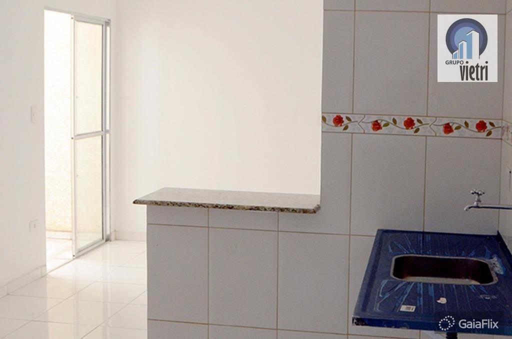 apartamento novo em ferraz de vasconcelos  vila cristina com 2 dormitórios, sala, cozinha, 1 vaga  aceita financiamento - ap2802