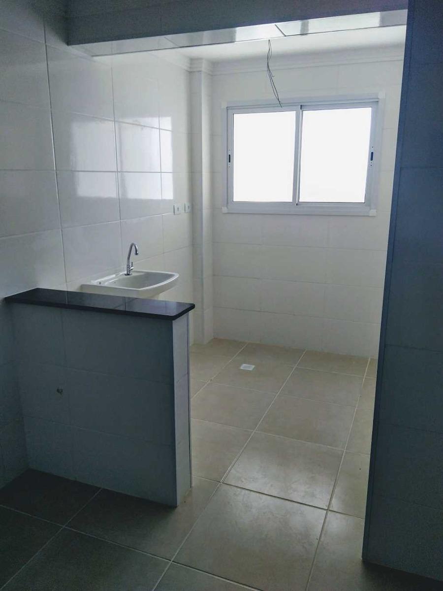 apartamento novo em mongaguá, 3 quartos lazer total