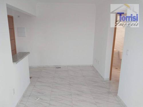 apartamento novo em praia grande, vila mirim - ref: ap1056 - ap1056