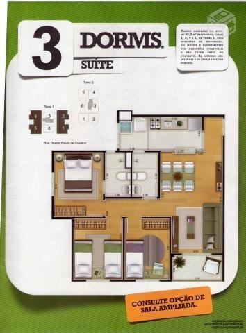 apartamento novo na aricanduva - 3 dorm (1 suíte) . 1 vaga