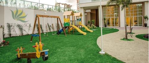 apartamento novo no isla jardim para locação, engenheiro luciano cavalcante, fortaleza. - ap0568