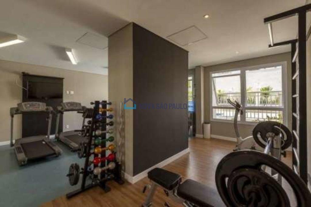 apartamento novo no miolo do campo belo , 2 dormitórios, 1 suíte, 2 vagas com depósito privativo . - bi26270