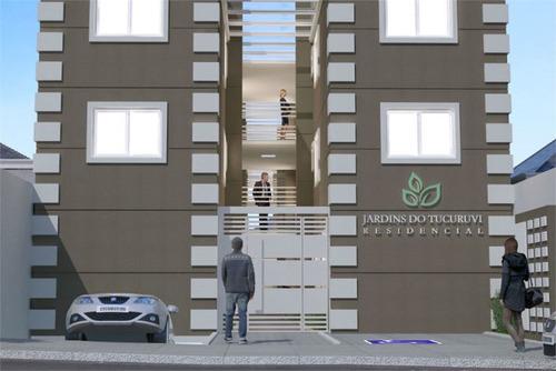 apartamento novo no tucuruvi de 50m2 com 02 dormitórios e 01 vaga de garagem. - 170-im403665