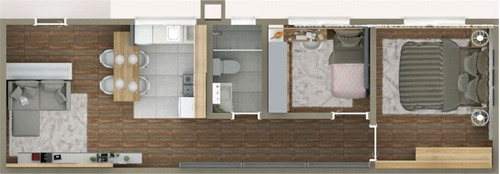 apartamento novo no tucuruvi de 50m2 com 02 dormitórios e 01 vaga de garagem. - 170-im403669