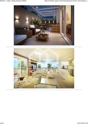 apartamento novo nunca habitado, 50m2 ! - mo8065