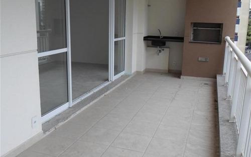 apartamento novo, nunca habitado, com belíssima varanda gourmet -morumbi, são paulo.