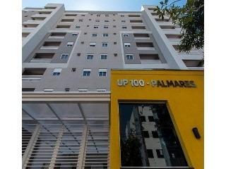 apartamento novo para venda no palmares, edificio up 100, 2 dormitorios, 52 m2, alto padrão de qualidade, plano minha casa minha vida, lazer e portaria 24h - ap00020 - 4447348
