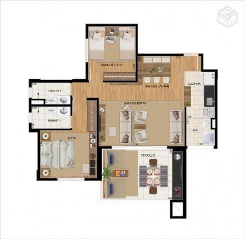 apartamento novo up home vila carrão - 3 dorm (1 suíte) 1 vg