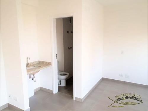 apartamento novo à venda (38m²) - estilo estúdio - 1 dormitório, cozinha, sala, varanda e 1 vaga de garagem coberta - vila suzana, sp. - ml751