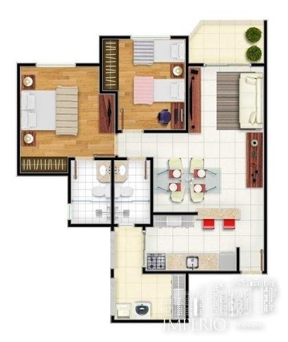 apartamento novo à venda no pq campolim - 462