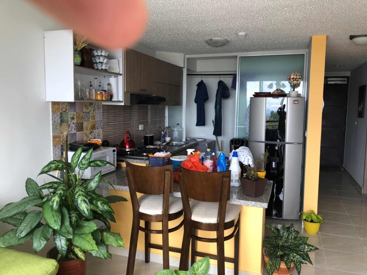 apartamento nuevo: 2 alcobas , 2 baños, estudio,piscina