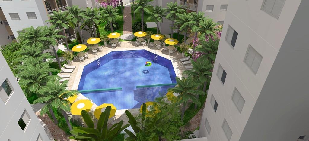 apartamento oregon club residencial