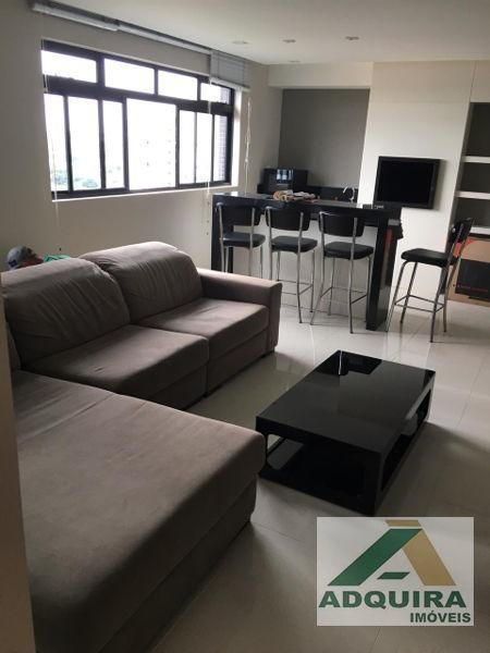 apartamento padrão com 2 quartos no edifício por do sol - 4399-v