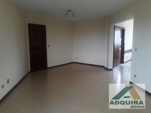 apartamento padrão com 3 quartos no ed. barão do rio branco - 4842-v