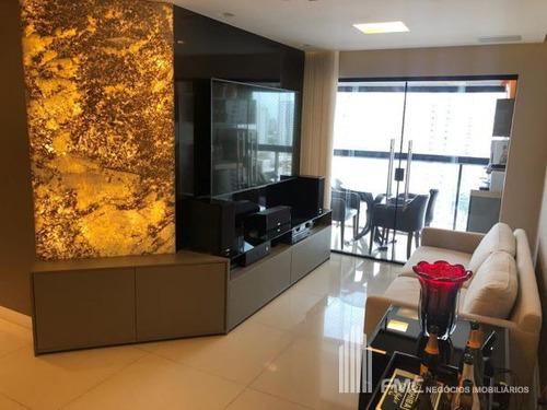 apartamento padrão com 3 quartos no edf. saint guilherme - vd205-v