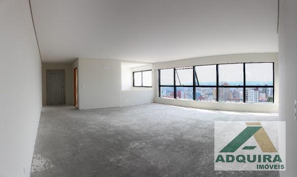 apartamento padrão com 3 quartos no edifício dechandt - 3644-v