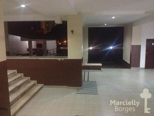 apartamento padrão com 3 quartos no edifício napoli - 517741-v