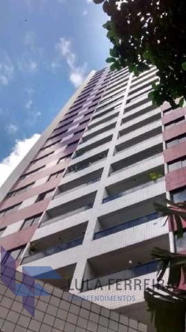 apartamento padrão com 4 quartos no edf. barão de suassuna - lf127-v