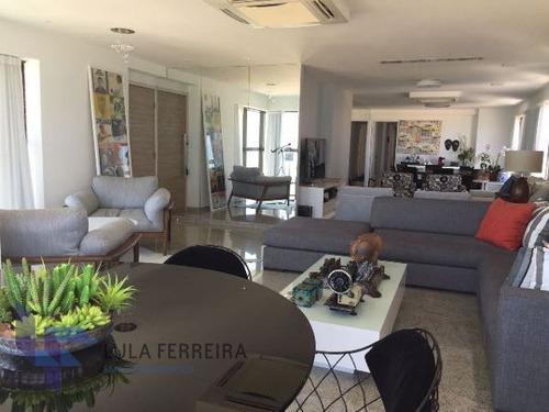 apartamento padrão com 4 quartos no edf. mar azul - lf412-v