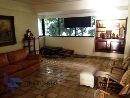 apartamento padrão com 4 quartos no edf. pindorama - lf059-v
