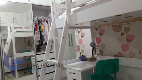 apartamento padrão com 4 quartos no edf. plátano - lf773-v