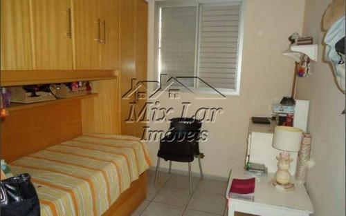 apartamento padrão: hall de entrada: amplo living: hall de distribuição 3 dormitórios, banheiro com box, cozinha, área de serviço e 1 vaga de garagem.