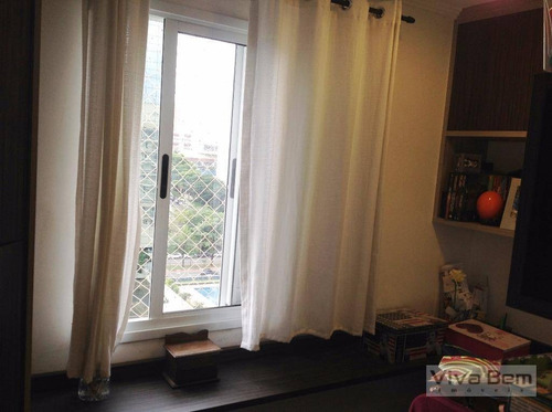 apartamento padrão no jardim anália franco!! - ap0724