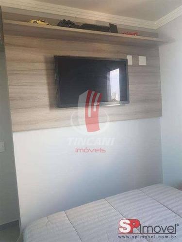 apartamento padrão para venda no bairro alto da mooca, 2 dorms, 1 vaga, 48 m - 3514