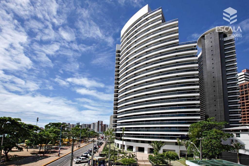 apartamento para alugar, 1 quarto, meireles, mobiliado com internet e tv a cabo - ap0479
