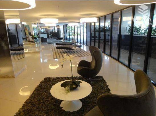 apartamento para alugar, 1 quarto, mobiliado, beira mar, com internet / tv a cabo - ap1102