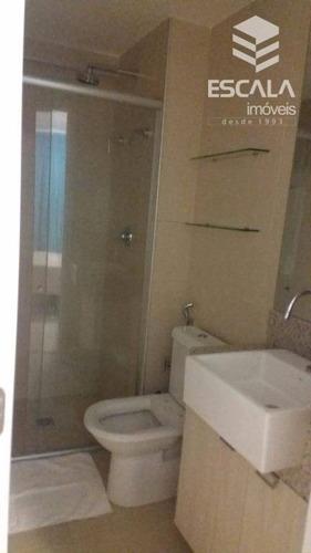 apartamento para alugar, 1 quarto, mobiliado, meireles, beira mar., com internet / tv a cabo - ap1101