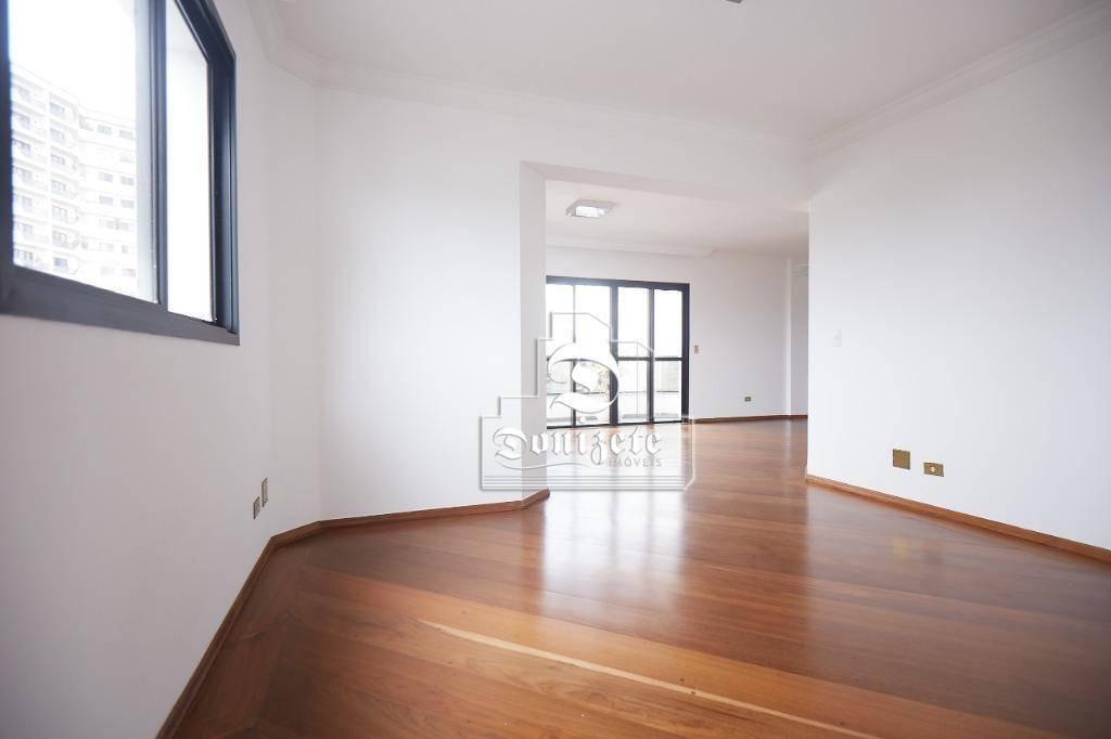 apartamento para alugar, 150 m² por r$ 3.000,00/mês - vila bastos - santo andré/sp - ap7654