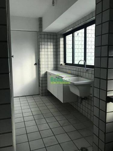 apartamento para alugar, 150 m² por r$ 3.800,00/mês - espinheiro - recife/pe - ap3200