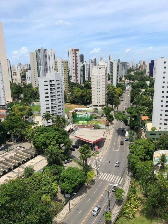 apartamento para alugar, 152 m² por r$ 2.544,21/mês - casa forte - recife/pe - ap1249