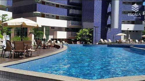 apartamento para alugar, 2 quartos, mobiliado, com internet / tv a cabo - ap1001