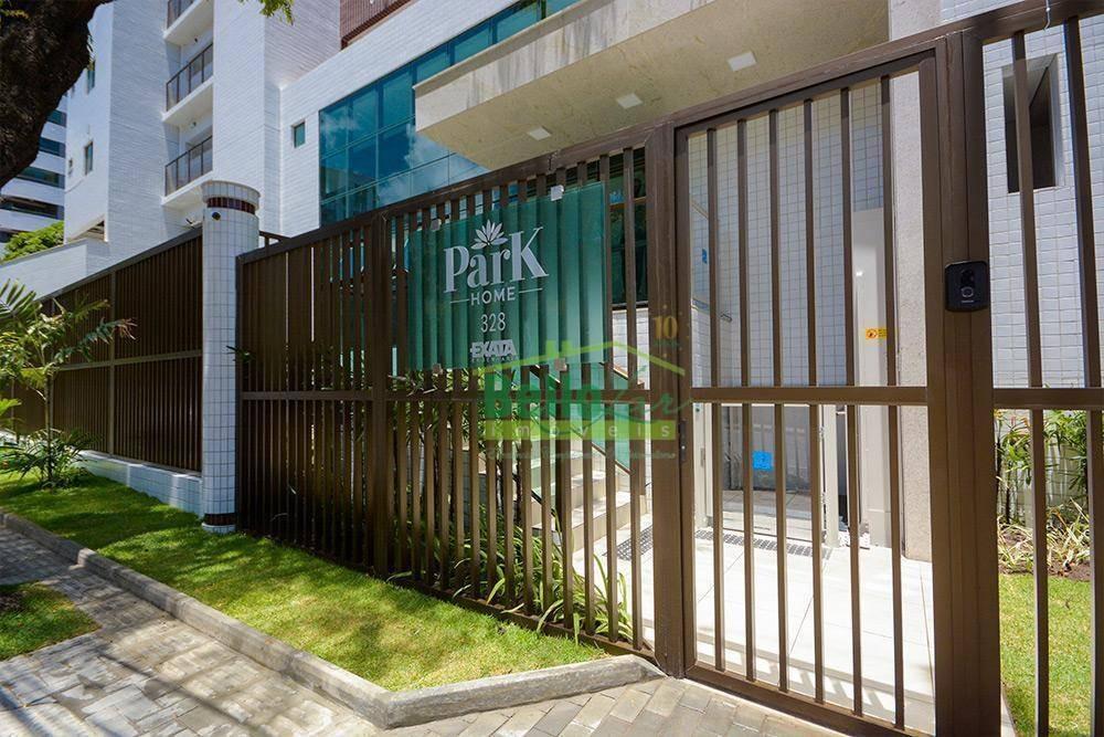 apartamento para alugar, 33 m² por r$ 1.600,00/mês - aflitos - recife/pe - ap1345