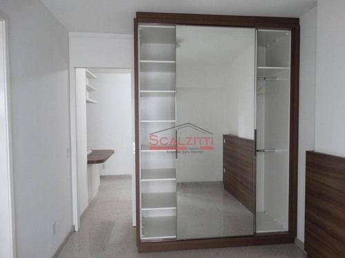apartamento para alugar, 35 m² por r$ 3.000/mês - jardim paulista - são paulo/sp - ap1143