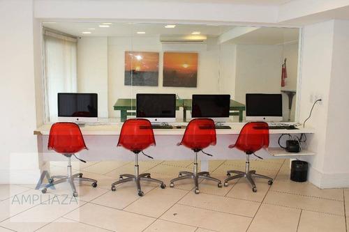 apartamento para alugar, 40 m² por r$ 2.800,00/mês - meireles - fortaleza/ce - ap0568