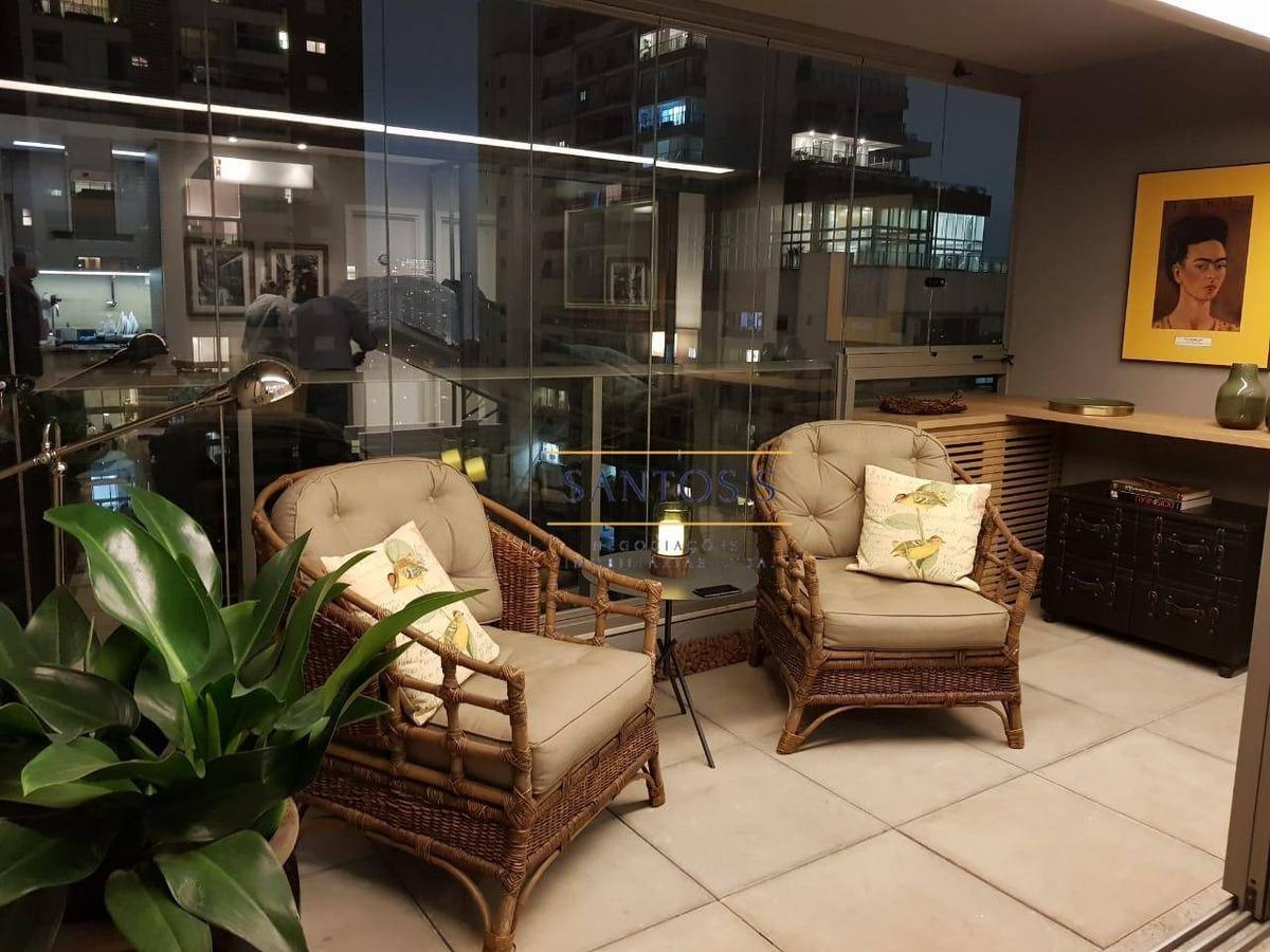 apartamento para alugar, 41 m² por r$ 4.000,00/mês - brooklin - são paulo/sp - ap1767
