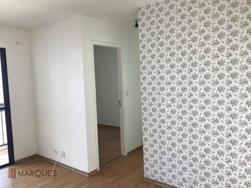 apartamento para alugar, 47 m² por r$ 850,00/mês - vila rio de janeiro - guarulhos/sp - ap0074