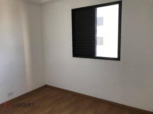 apartamento para alugar, 52 m² por r$ 850,00/mês - vila rio de janeiro - guarulhos/sp - ap0076