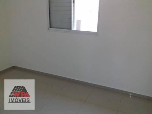 apartamento para alugar, 53 m² por r$ 700,00/mês - planalto do sol ii - santa bárbara d'oeste/sp - ap2049