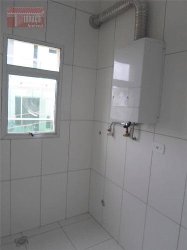 apartamento para alugar, 54 m² por r$ 900/mês - vila curuçá - santo andré/sp - ap0940