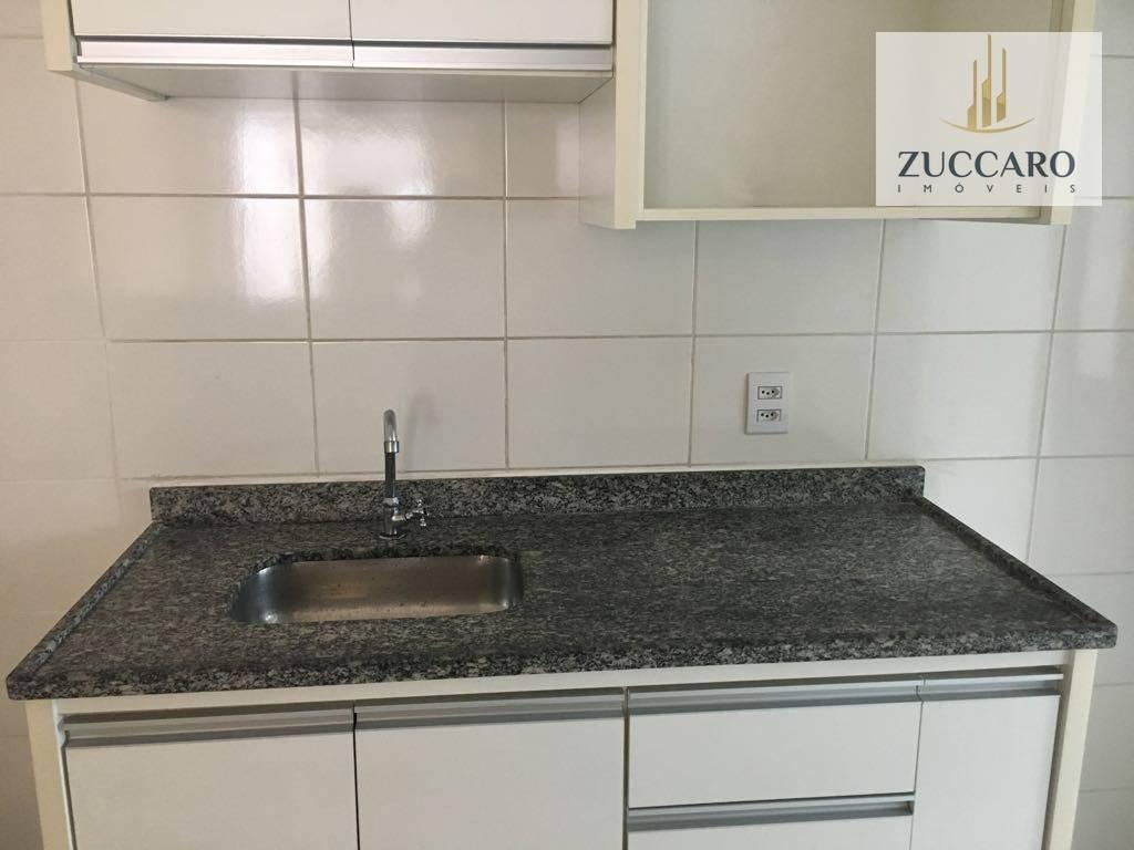 apartamento para alugar, 55 m² por r$ 1.400,00/mês - jardim rosa de franca - guarulhos/sp - ap13539