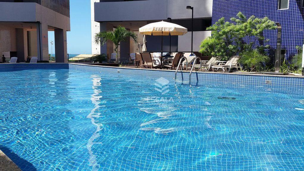 apartamento para alugar, 56 m² por r$ 3.200,00/mês - meireles - fortaleza/ce - ap0390