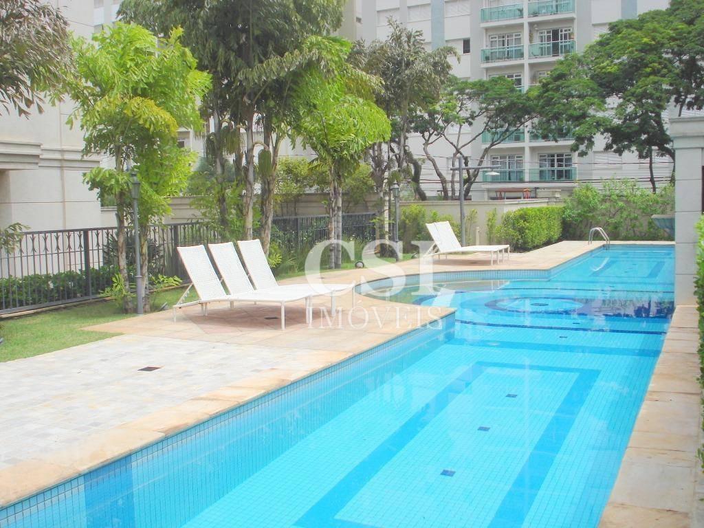 apartamento para alugar, 58 m² por r$ 2.500,00/mês - cambuí - campinas/sp - ap1194