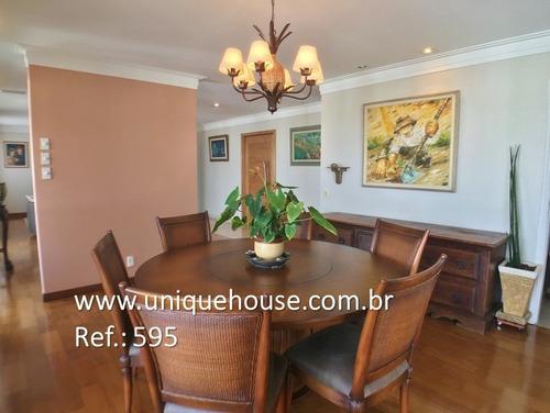 apartamento para alugar no bairro campo belo em são paulo - - 595-2