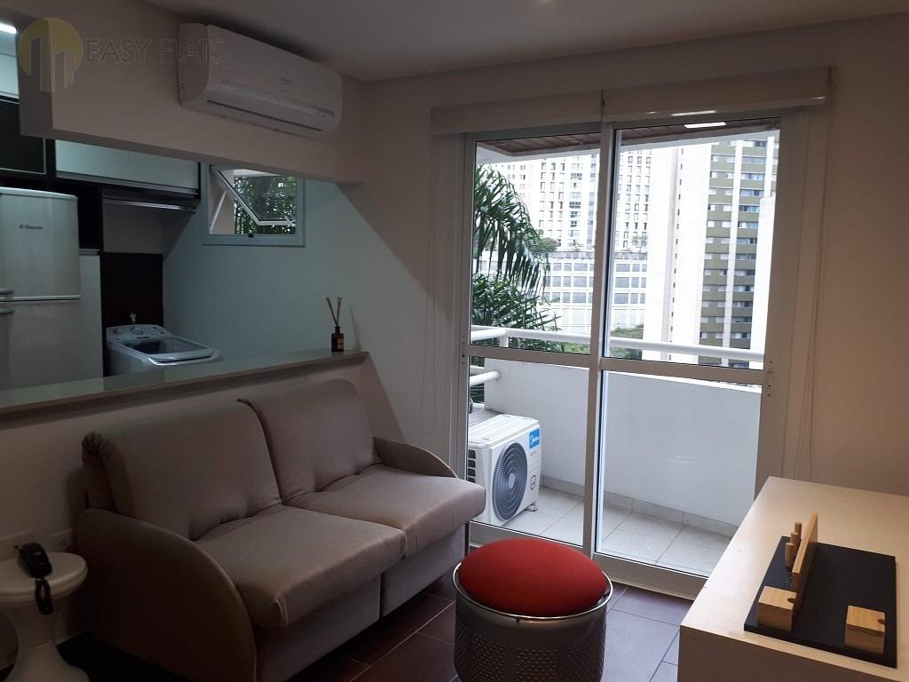 apartamento para aluguel, 1 dormitórios, bela vista - são paulo - 1545