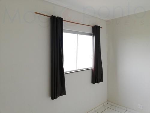 apartamento para aluguel, 2 dormitórios, parque residencial nova canaã - mogi guaçu - 874